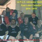 <b>Vainqueurs tournoi  Cadaujac 2014.2015</b> <br />
